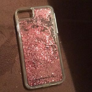 Casemate iPhone 7 Case pink sparkly